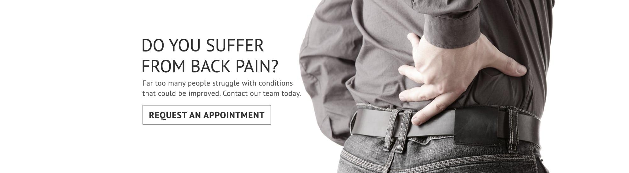Back Pain Slider